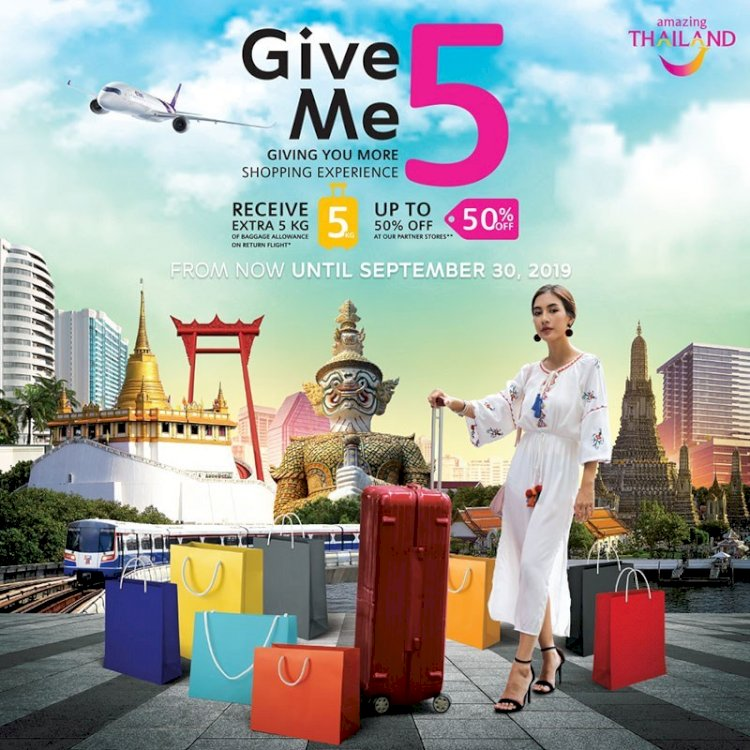 TAT Launches Shopping Campaign 'Give Me 5'