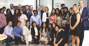 French Consul General of Mumbai Inaugurates The New Indo-French Chamber Head Office