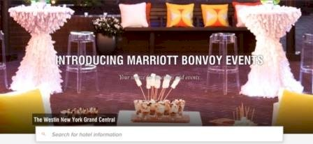 Marriott International Launches Marriott Bonvoy Events