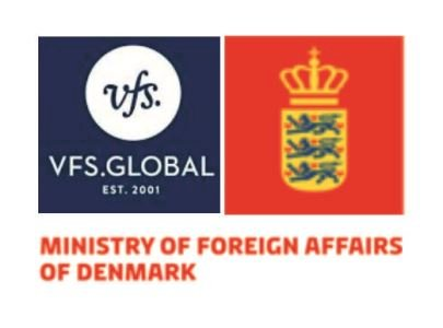 Ministry of Foreign Affairs of Denmark marks the new visa application process