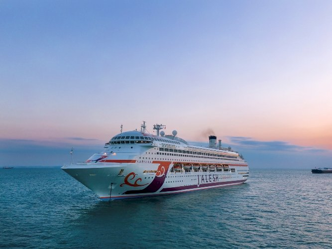 India's first premium cruise ship Karnika dock to Mumbai