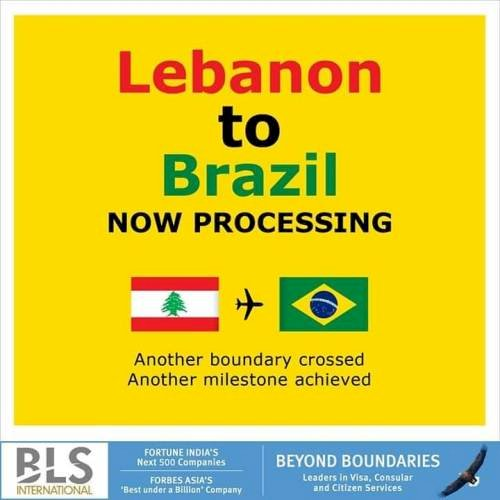 BLS International signs contract with Embassy of Brazil in Lebanon