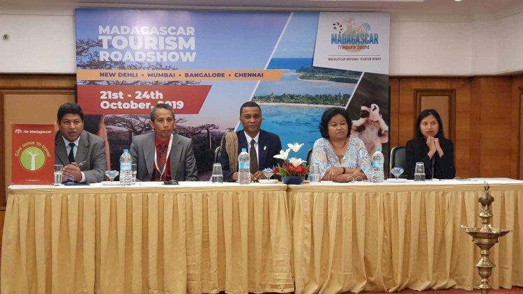 Madagascar Tourism Board organized a four-city roadshow in India