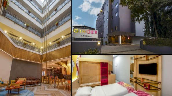 Ginger unveiled its renovated and reimagined hotel in Wakad, Pune