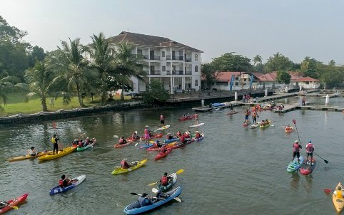 KERALA'S Muziris Backwater Paddle (Kayaking Expedition) will be held on January 4 and 5, 2020