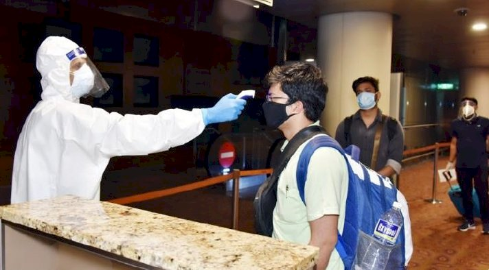 Ministry of Civil Aviation has allowed RT-PCR testing at the Entry Airport