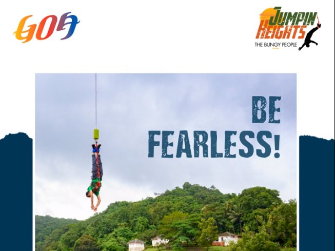 Bungee Jumping Now in Goa!