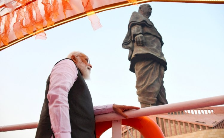 Statue of Unity gets a tourism boost; PM launches 17 projects