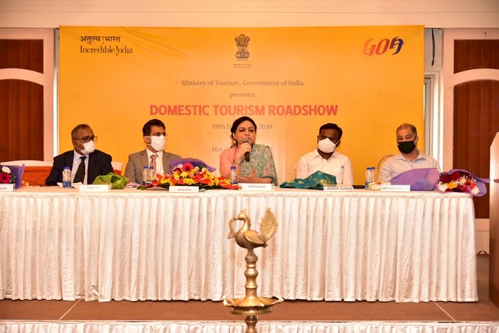 Domestic Tourism roadshow in Goa organised by Ministry of Tourism