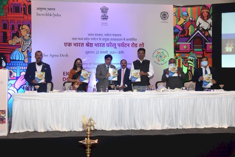 MoT Organised 'Ek Bharat Shreshtha Bharat' Domestic Tourism Road show in Indore