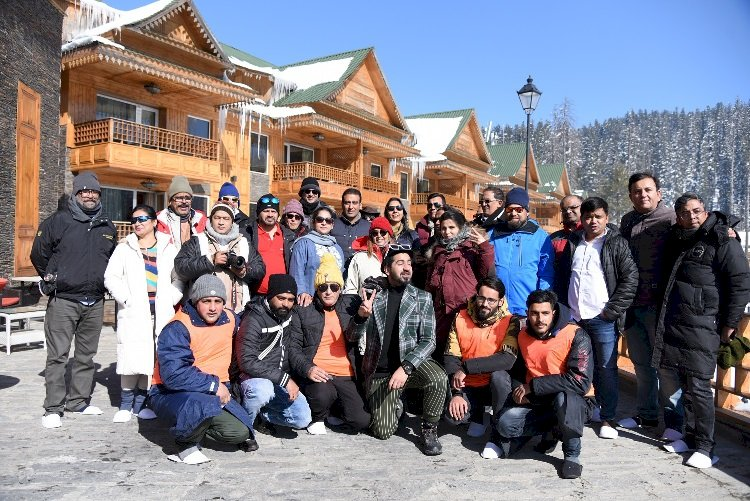 J&K Tourism hosted a FAM for Bollywood Production Houses