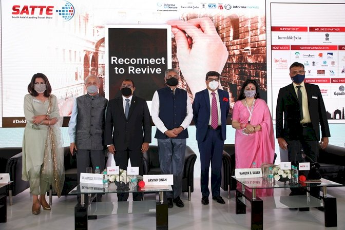 SATTE 2021: Industry calls for the revival of Travel and Tourism Industry