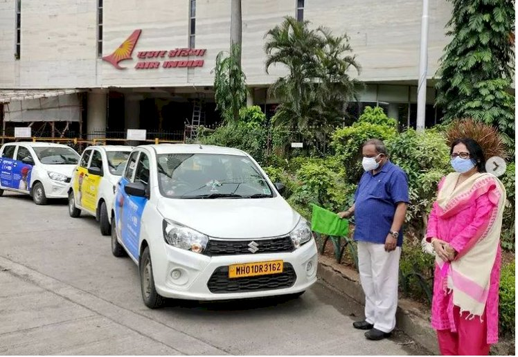 Indiatourism Mumbai has launched branding campaign on the UBER Cabs in Mumbai