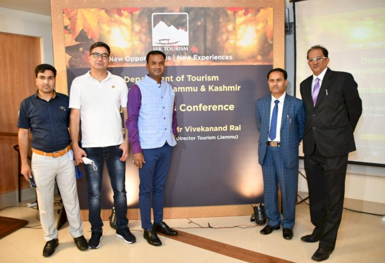 J & K Tourism has started an extensive promotional campaign